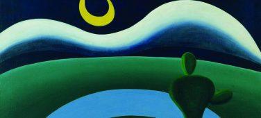 pintura A lua - Tarsila do Amaral