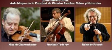 Sexteto Op. 18 de J. Brahms y Sexteto Op. 70 Souvenir de Florence de P. I. Tchaikovski
